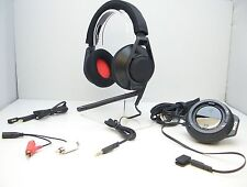 Plantronics RIG (Black) Stereo Gaming Headset BLACK Mixer USB Amp for Xbox