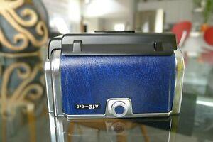 Hasselblad A12 Film Back Rare Blue Chrome Matching insert Latest SV 501 503 SWCM