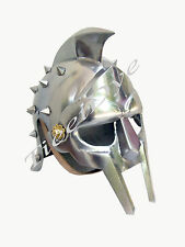 Medieval Armor Maximus Decimus Meridius Gladiator Helmet - 300 Spartan Helmet