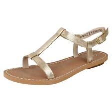 Sandalias y chanclas de mujer planos de piel talla 40