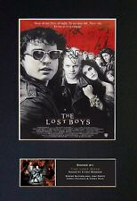 #731 THE LOST BOYS Reproduction Signature/Autograph Mounted Signed Photograph A4