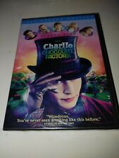 Charlie and the Chocolate Factory (Dvd, 2005, Full Screen) Brand New - Sealed