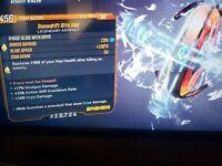 Snowdrift Otto Idol cooldown shotgun dmg & cryo dmg Borderlands 3xbox bl3 FL4K