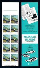 [49737] Marshall Islands 1988 Marine life Fish MNH Booklet