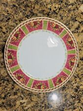 """2 TWO Royal Albert Seasons of Color 12"""" Service Plates Charger Chop Buffet Rare"""