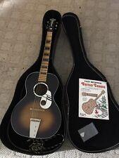 Vintage Kay Wood Acoustic Guitar L 9497 With Hard Case picks Book Steel EN. neck