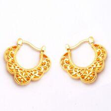 Jewelry Gold Plated Lady Girl Hoop Earrings