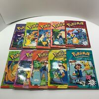Lot Of 10 Vintage Pokemon Kids Reading Books
