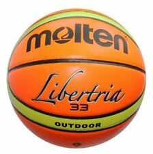 Molten Official Libertria 33 Size 7 Indoor Outdoor 29.5'' Leather Basketball
