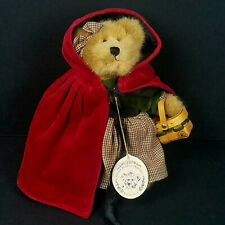 "Boyds Bears Plush Bailey Bear as Lil Red Riding Hood 8"" - New (Other) Nwt"