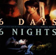 New: Nyman,Michael: 6 Days 6 Nights Movie Soundtrack  Audio Cassette