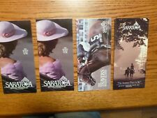 4 Saratoga Horse Racing Programs - All Stakes - 1990 & 1991 - 3 Mint