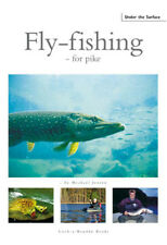 JENSEN MICHAEL FLYTYING & ANGLING BOOK FLY FISHING FOR PIKE hardback BARGAIN new