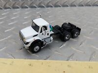 1/64 custom international work star daycab white toy semi truck dcp s scale