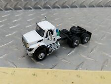 1/64 custom international work star daycab white ertl toy semi truck dcp s scale