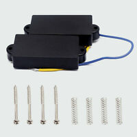 4 String Humbucker Pickups Double Coil Bridge and Neck for Electric Bass Guitar