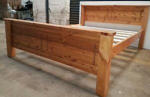 MAYA pine bed  solid bed frame   EXTRA STRONG BED SLATS