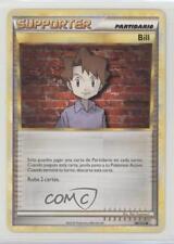 2010 Pokémon HeartGold & SoulSilver Base Set Spanish #89 Bill Pokemon Card 2f4