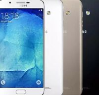 SAMSUNG A8 DUAL SIM GOLD ARGENTO 32GB Espandibili 5.6 NO BRAND