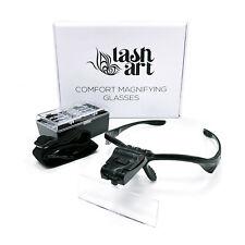 LashArt Comfort Magnifier Hands Free Magnifying Glass CE MARK Eyelash Extension