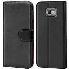 Samsung Galaxy S2 Handy Klapp Tasche Schutz Hülle Book Flip Cover Case Slim Etui