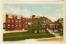 Good Samaritan Hospital Lebanon Pennsylvania Postcard