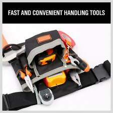 Slot Pouch Tool Belt Bag Utility Maintenance Electrician 8 Pocket Carpenter