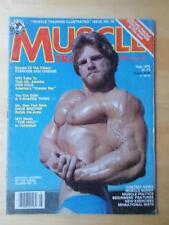MUSCLE TRAINING bodybuilding fitness magazine/DAVE SPECTOR/Tony Atlas 5-79