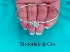 Tiffany & Co Paloma Picasso Argento Sterling Daisy Flower Bracciale Bangle