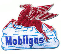 Mobilgas patch badge Mobil Pegasus gasoline motor oil service station hot rod