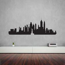 NEW York City Skyline Parete In Vinile Arte Decalcomania Per Home Decor / Interior Design /...