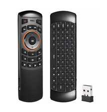 Universal Remote Control - 2.4GHz Wireless w/QWERTY Keyboard & 6 Axis Air Mouse