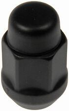 Matte Black Acorn Nut Lock Set 1/2-20 - Dorman 711-235C
