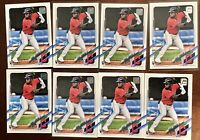 Lot Of 8 Daniel Johnson Rookie 2021 Topps Series 1 #103 Clevland Indians