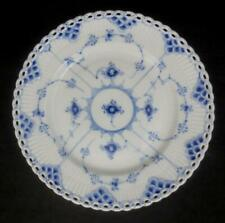 "ROYAL COPENHAGEN Denmark BLUE FLUTED FULL LACE 7-3/4"" PLATE #1086 First Quality"