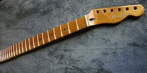 "Fender Tele Cuello Roasted Arce Cuello 9,5 "", 21 Estrecho Tall Frets"