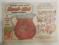 Kool-Aid Drink Ad: Lets Make Kool-Aid Suckers! from 1950's Size: 7.5 x 10 inches