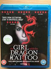 The Girl With The Dragon Tattoo Blu-ray 2009 Stieg Larsson Swedish Thriller