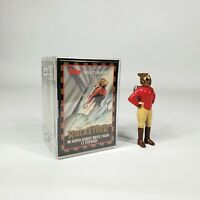 """The Rocketeer by Topps Movie Cards Sticker Set & 3"""" PVC Figure"""