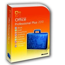 Microsoft Office 2010 Professional inc Word Outlook Excel PowerPoint Publisher