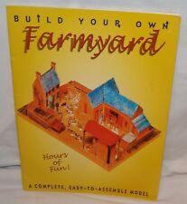 Build Your Own Farmyard Stewart Walton Sally Walton Craft Farm Book Paperback