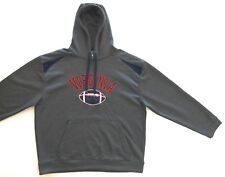 Univ Virginia Football Mens Gry Signature Hoodie XXL NEW