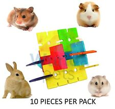Happy Pet Wooden Tower Jigsaw Chew Hamsters Gerbils Mice Discontinued REDUCED