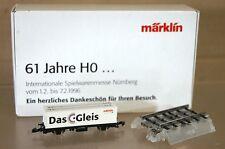MARKLIN MäRKLIN Z GAUGE SONDERMODELL NURNBERG 1996 CONTAINERWAGEN DAS GLEIS ne