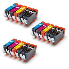 15 PK Ink Cartridges Combo Set fits PGI-225BK CLI-226 MG5220 MG5320 MX882 MX892