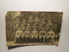 Celle 1916 - Gruppe Soldaten Regiment IR 77 ? / Foto Feldpostkarte I. Weltkrieg
