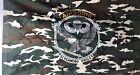 US Air Borne Fahne Flagge Flag 150 x 90 tarn Airborne screaming eagles Wappen