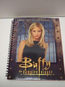 BUFFY THE VAMPIRE SLAYER 2000- 2001 Student Planner / VF/NM / NO WRITING, RARE