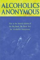 ALCOHOLICS ANONYMOUS.Big Book Fourth Edition. Hardcover  FREE SHIPPING