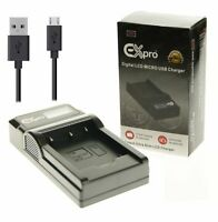 EN-EL19 Battery Charger for Nikon Coolpix A100 S2550 S33 S3700 S4300 S6600 S7000
